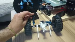3d printed rear axle for rc car