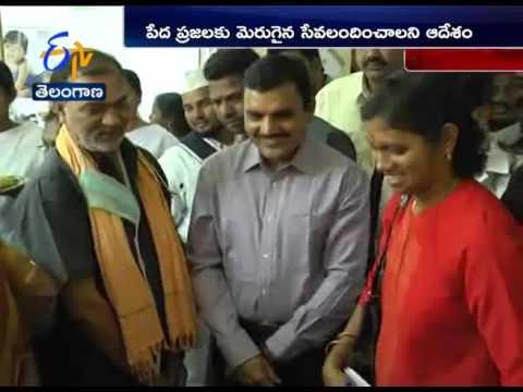 Collector Sharath Surprise Visit In General Hospital Of Jagtial