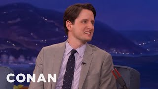 "Zach Woods On Being ""A Poster Boy For The Gay Morticians Union""  - CONAN on TBS"