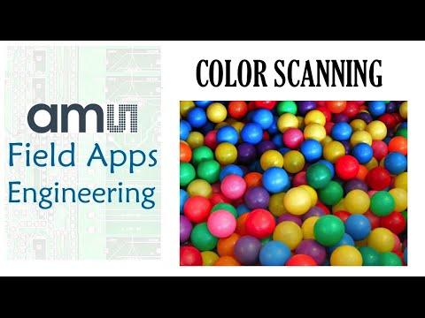 Color Scanning Made Easy! ams AS7261 Spectral Sensor