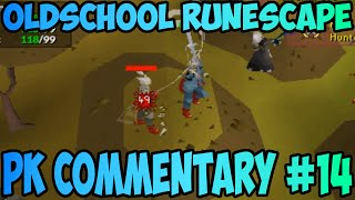 Oldschool Runescape - F2P Pking! + AGS Pking! | 2007 Pk Commentary #14