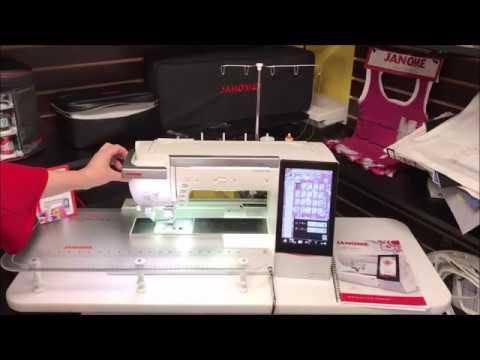 Janome Horizon Quiltmaker Memory Craft 15000 Youtube
