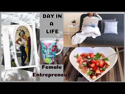 DAY IN A LIFE | Successful Female Entrepreneur London | Work From Home | Momprenuer | 8FIT