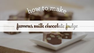 How To Make Famous Milk Chocolate Fudge Teaser