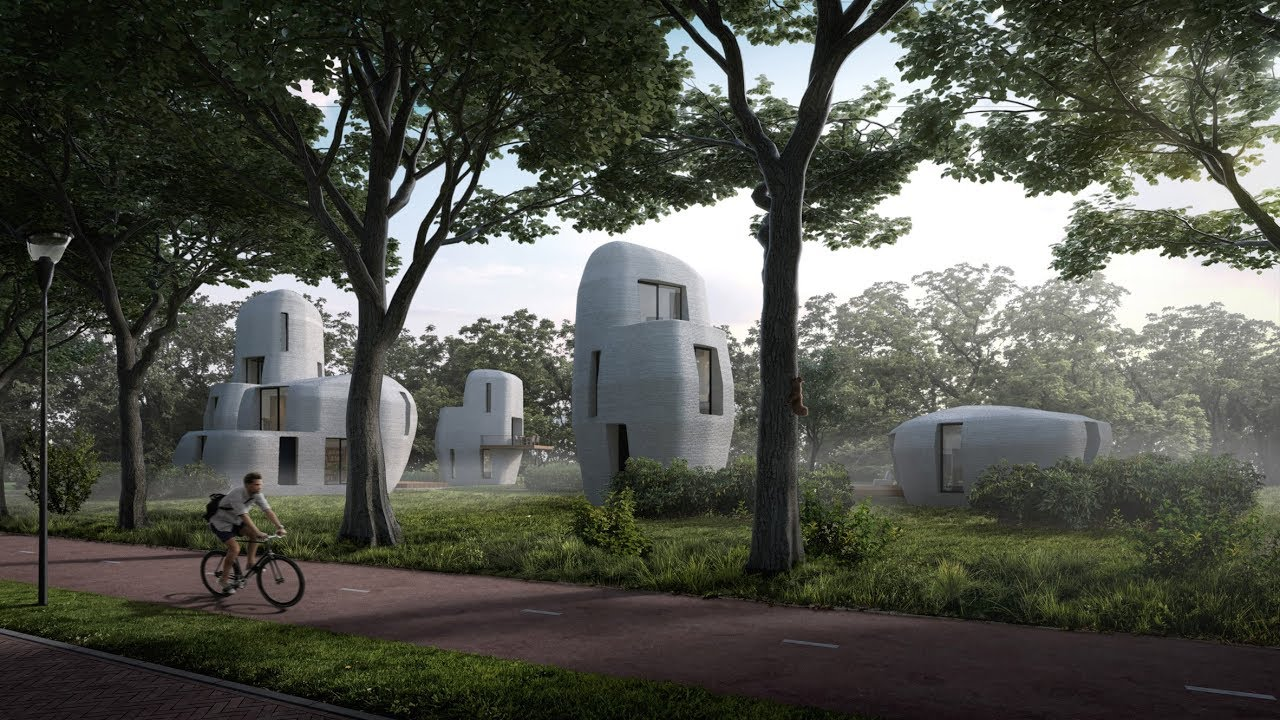 Eindhoven to build world s first 3d printed houses that - Buy 3d printed house ...