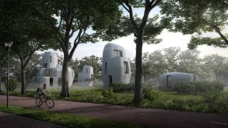 """Gambar cover Eindhoven to build """"world's first"""" 3D-printed houses that people can live inside"""