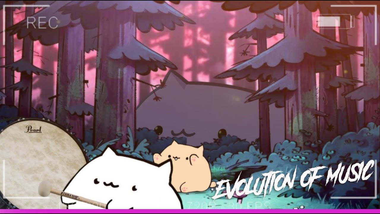 BONGO CAT — EVOLUTION OF MUSIC (1800—2018)   HD