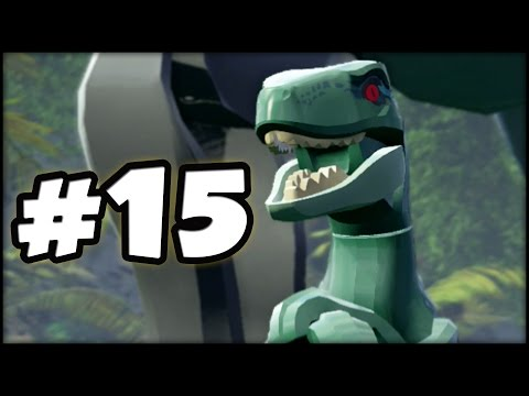 LEGO Jurassic World - PART 15 - JURRASIC PARK III ENDING! (Gameplay Walkthrough HD)