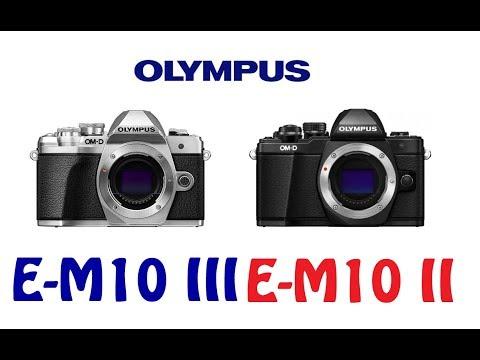 Olympus OM-D E-M10 Mark III vs E-M10 Mark II