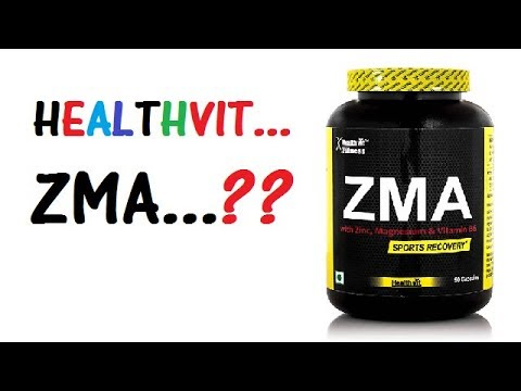 HealthVIT ZMA Review | ZMA (Review) - Is this supplement a WASTE of MONEY?
