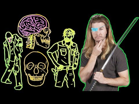 How They Should Be Killing Zombies on The Walking Dead! (Because Science w/ Kyle Hill)