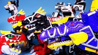 파워레인저 다이노포스 공룡변신 헬로카봇 또봇 다이노포스 티라노킹 스피노킹 프테라킹 power rangers dino charge kyoryuger carbot