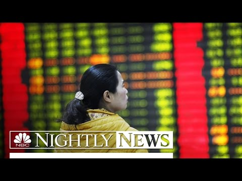 U.S. Stocks Again Plummet Over China Economy Fears | NBC Nightly News