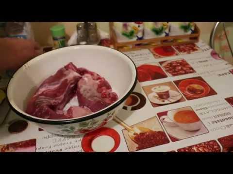 Вяленое мясо в