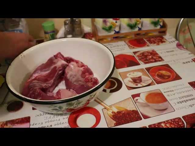 Как сделать балык из говядины в домашних условиях видео