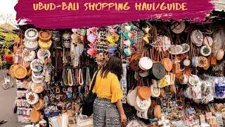 Shopping in UBUD - Bali | Where to Shop in Bali
