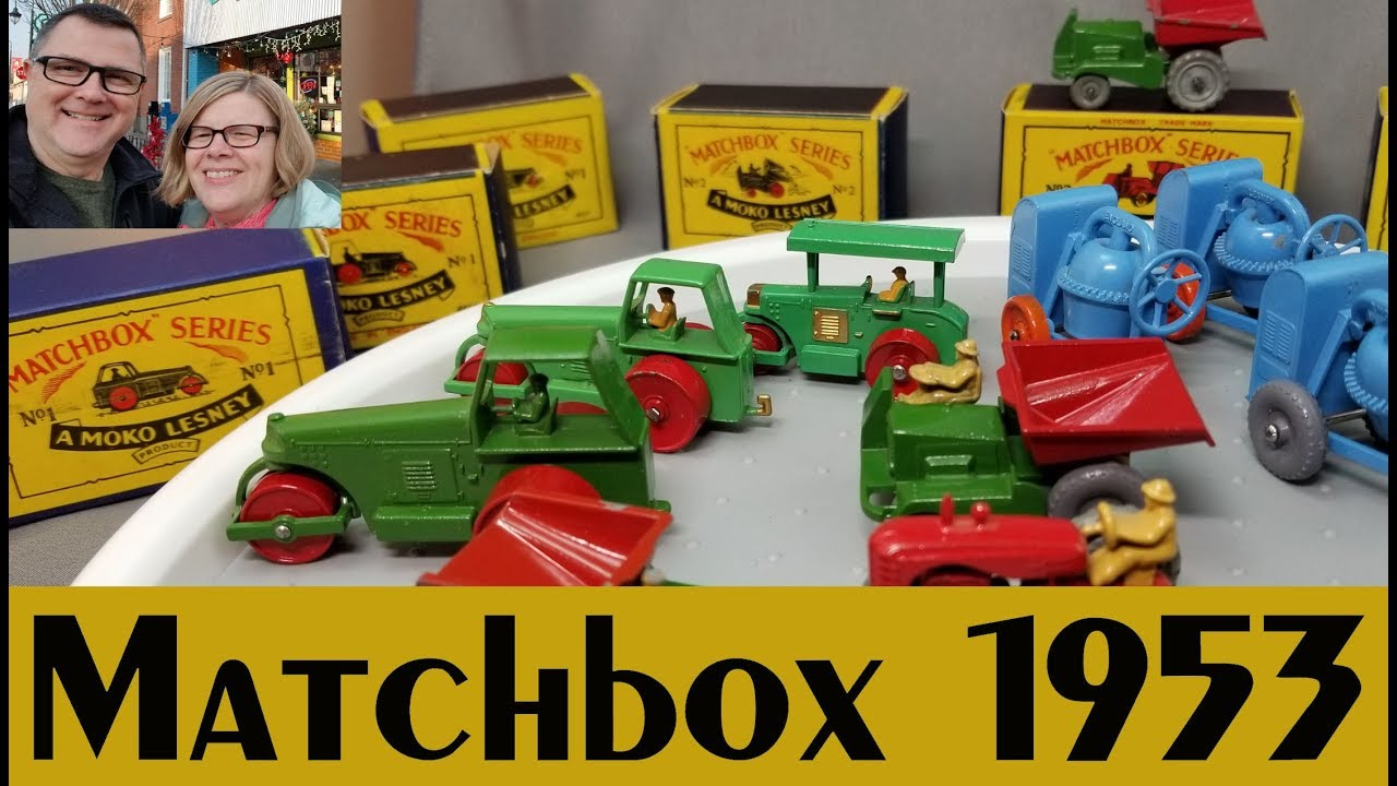 1953 Matchbox, the First Four – Video #265 – January 1st, 2018