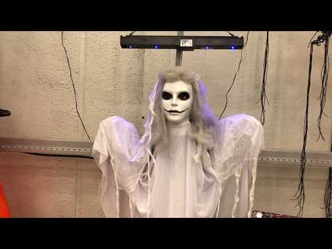 Lowe's Halloween 2018: Animated Hanging Ghost Girl