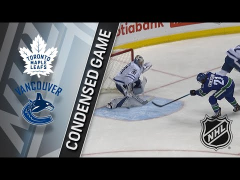 12/02/17 Condensed Game: Maple Leafs @ Canucks