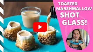 Toasted Marshmallow Shot Glass