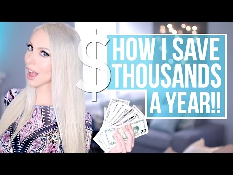 How I save THOUSANDS a year! Easy Budgeting Tips that Work
