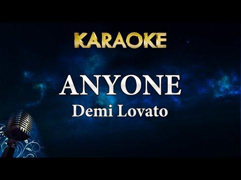 Demi Lovato - Anyone (Karaoke Instrumental)