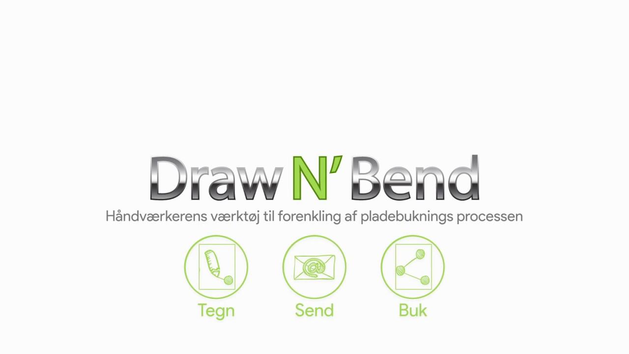 Draw N´ Bend - demonstration af app