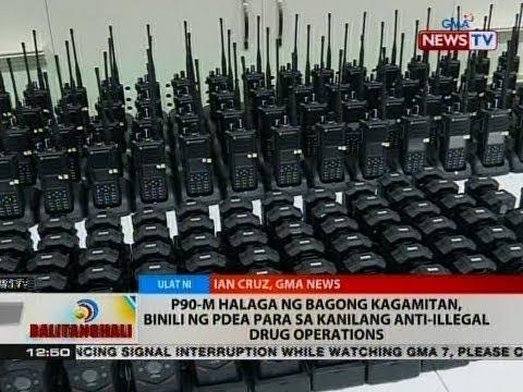 P90-M halaga ng bagong kagamitan, binili ng PDEA para sa kanilang anti-illegal drug operations