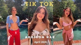 Addison Rae TikTok Compilation (April 2020)