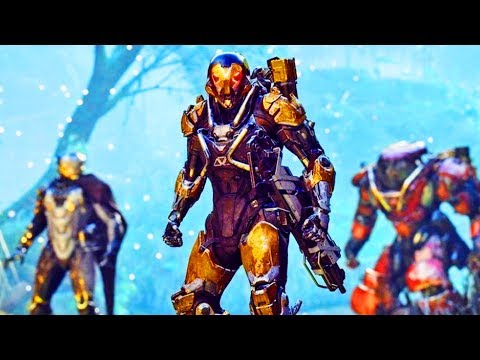 WE GOT PAST THE LOADSCREEN (ACTUALLY PLAYING ANTHEM!!!!) - NEW Anthem Demo Gameplay Stream thumbnail