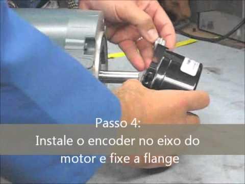 Instalação Encoder Incremental HS35R em Português