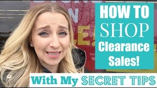 Secret Clearance Shopping Tips!