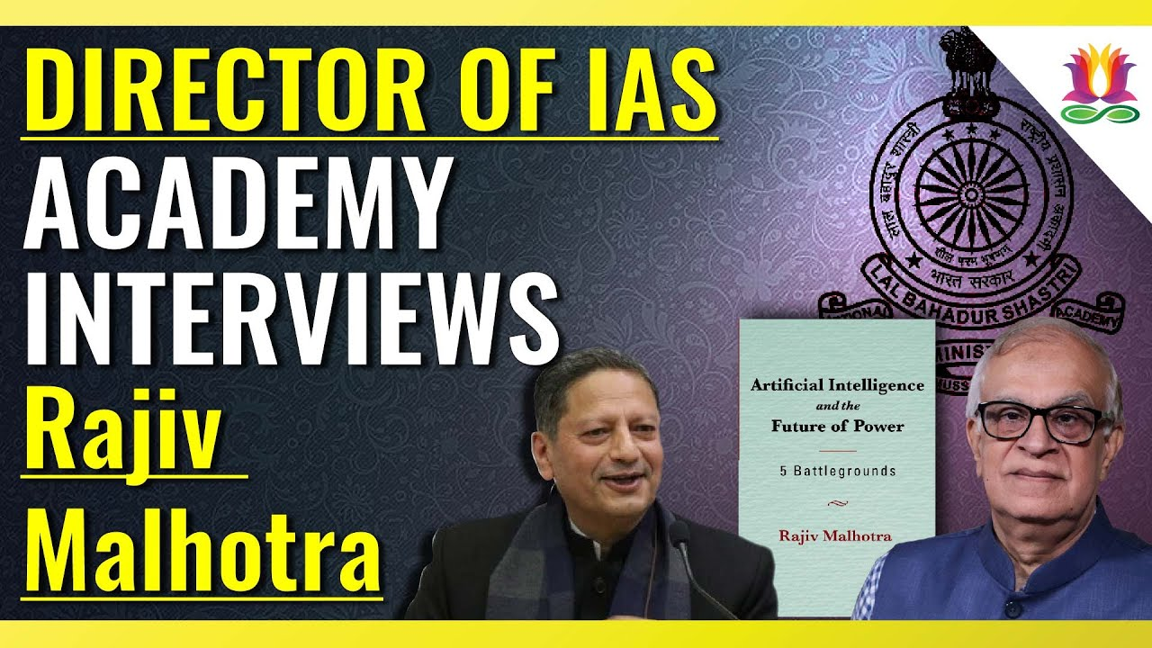 Director of IAS Training Academy interviews the Author
