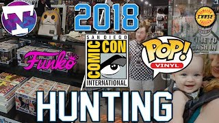 SDCC 2018 Funko POP Hunting | We Found a CHASE!