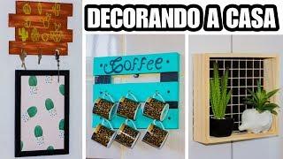 DIY KIT DE DECORAÇÃO PARA CASA GASTANTO POUCO - Sala, Banheiro, Quarto, Cozinha