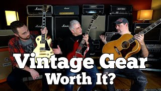 Is Vintage Gear Worth The Money? A Look at Gibson, Fender & PRS