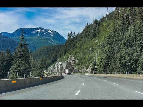 16-19: I-90 West through Snoqualmie Pass Washington