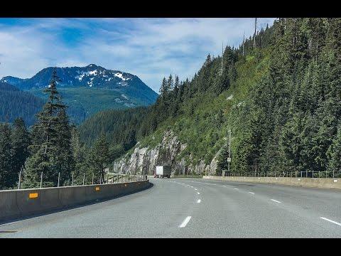 16-19: I-90 West through Snoqualmie Pass Washington