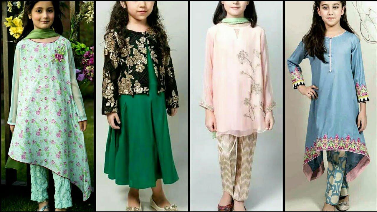 [VIDEO] - Stylish kids semi formal branded outfits kids dress design 2019-20 4