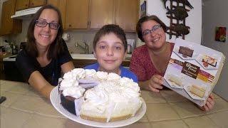 Cheesecake Factory Cakes | Gay Family Mukbang (먹방) - Eating Show