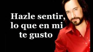 Marco Antonio Solis - Inventame (Karaoke)