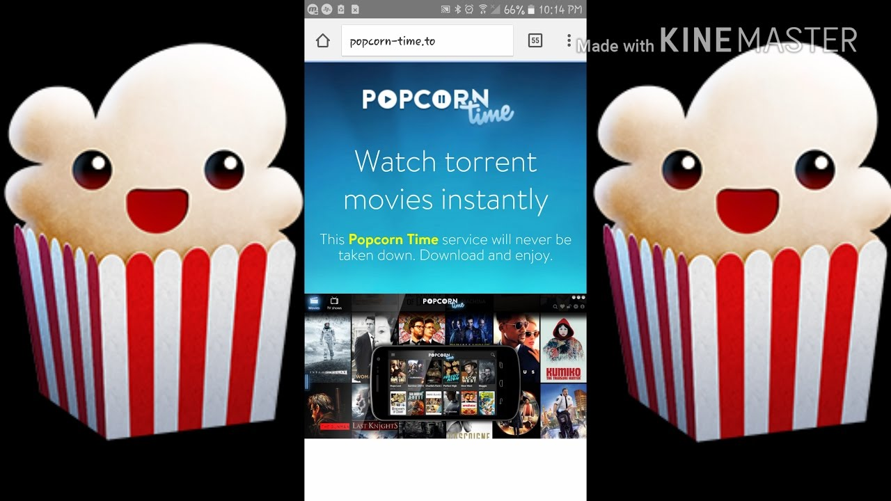 how to download popcorn to android box