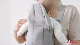 BABYBJÖRN - How to use the fac…
