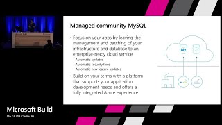 Develop scalable Web Apps with Azure Database for MySQL and MariaDB : Build 2018