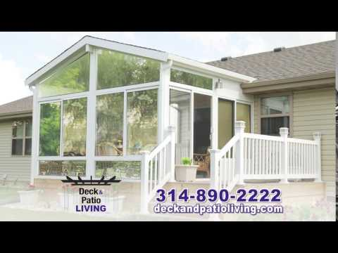 St. Louis' No.1 Contractor for Betterliving Sunrooms | Deck & Patio Living