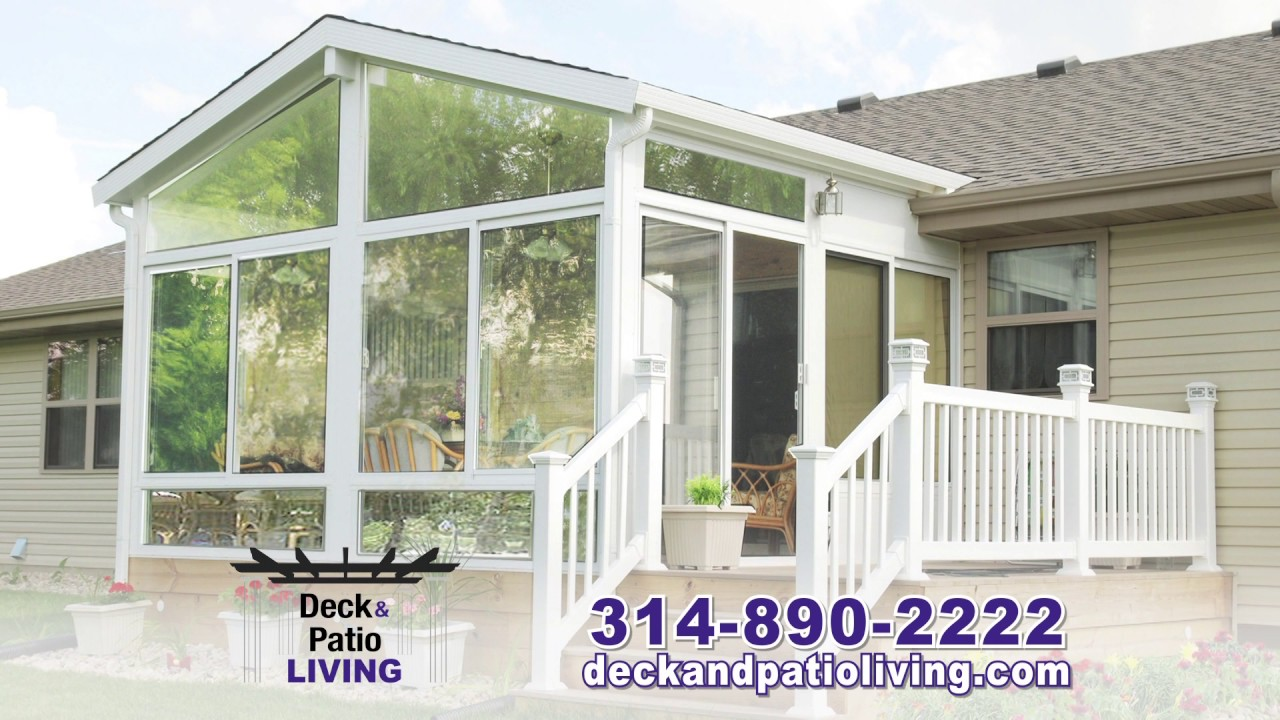 St Louis No 1 Contractor For Betterliving Sunrooms Deck Patio Living
