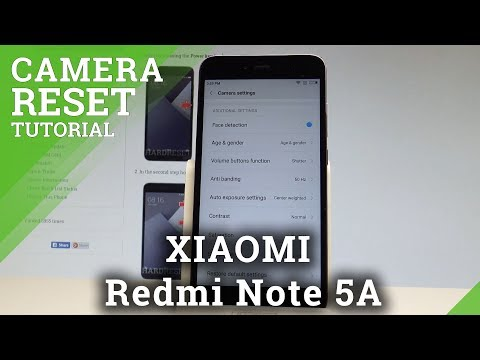 Reset Camera XIAOMI Redmi 4X - HardReset info