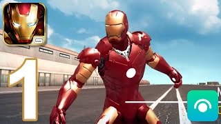 Iron Man 3: The Official Game - Gameplay Walkthrough Part 1 - CRIMSON DYNAMO (iOS, Android)
