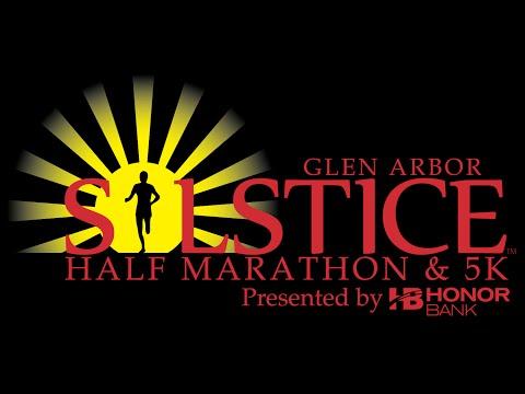 2015 Glen Arbor Solstice 5k Finish Video
