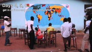 World Map Project: How-To Plan & Paint -- Peace Corps Ghana